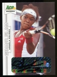 2013 Leaf Ace Authentic Grand Slam #BAAH2 Angela Haynes Autograph