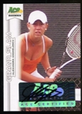 2013 Leaf Ace Authentic Grand Slam #BAAA1 Alexandra Anghelescu Autograph