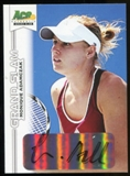 2013 Leaf Ace Authentic Grand Slam #BAMA1 Monique Adamczak Autograph