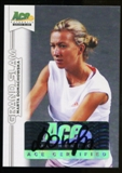2013 Leaf Ace Authentic Grand Slam #BAMD1 Marta Domachowska Autograph