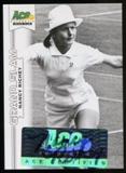 2013 Leaf Ace Authentic Grand Slam #BANR1 Nancy Richey Autograph