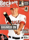 2015 Beckett Sports Card Monthly Price Guide (#358 Janruary) (Mike Trout)