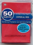 Ultra Pro Yu-Gi-Oh! Size Imperial Red Deck Protectors 50 Count Pack (Lot of 10)