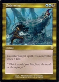 Magic the Gathering Invasion Single Undermine UNPLAYED (NM/MT)