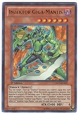 Yu-Gi-Oh Order of Chaos Single Inzektor Giga-Mantis Ultra Rare