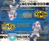 2000 Upper Deck Ionix Football Box