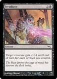 Magic the Gathering Mirrodin Single Irradiate Foil