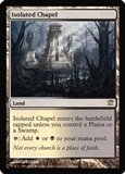 Magic the Gathering Innistrad Single Isolated Chapel UNPLAYED (NM/MT)