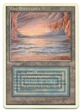 Magic the Gathering 3rd Ed. Revised Single Underground Sea ITALIAN - MODERATE PLAY (MP)