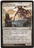 Magic the Gathering Rise of the Eldrazi Single It That Betrays Foil