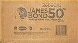 James Bond 50th Anniversary Series 2 Trading Cards 12-Box Case (Rittenhouse 2012)