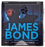 James Bond Autographs and Relics Trading Cards Box (Rittenhouse 2013)