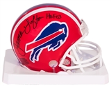 James Lofton Autographed Buffalo Bills Mini Football Helmet with HOF 03