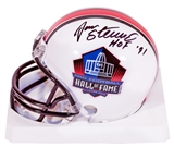 Jan Stenerud Autographed Hall of Fame Mini Helmet