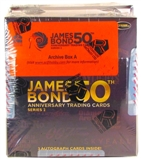 James Bond 50th Anniversary Series 2 Trading Cards Archives Box (Rittenhouse 2012)