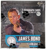 James Bond Mission Logs Trading Cards Box (Rittenhouse 2011)