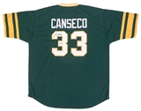 Jose Canseco Autographed Oakland A's Baseball Jersey (JSA)