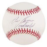 "Jose Canseco Autographed Official Major League Baseball ""Vindicated"""