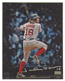 Johnny Damon Autographed 8x10 Photo 2013 The National Panini VIP Signings