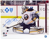 Jhonas Enroth Autographed Buffalo Sabres 16x20 Hockey Photo