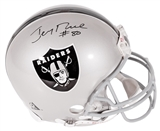 Jerry Rice Autographed Oakland Raiders Proline Riddell Full Size Helmet (Rice Hologram)