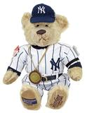 1999 New York Yankees World Series Champions Teddy Bear #17/500 by Cooperstown Bears