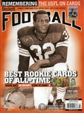 2014 Beckett Football Monthly Price Guide (#282 July) (Jim Brown)
