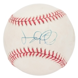 Jim Leyland Autographed Rawlings National League MLB Baseball (JSA COA)