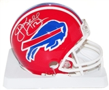 Jim Kelly Autographed Buffalo Bills Mini Football Helmet DACW COA