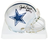 Jackie Smith Autographed Dallas Cowboys Mini Helmet