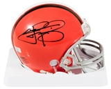 Johnny Manziel Autographed Cleveland Browns Mini Football Helmet (Panini Authentics)