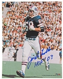 Joe DeLamielleure Autographed Buffalo Bills 8x10 Football Photo