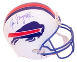 Joe Ferguson Autographed Buffalo Bills Throwback Full Size Football Helmet