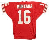 Joe Montana Autographed San Francisco 49ers Authentic Wilson Jersey (UDA)