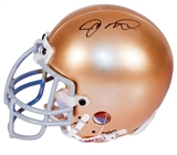Joe Montana Autographed University of Notre Dame Mini Helmet (UDA COA)