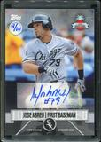 2016 Topps Baseball Hawaii Summit Exclusive Jose Abreu Autograph 4/10