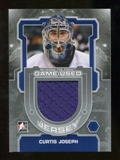 2012/13 In the Game Between The Pipes Jerseys Silver #M35 Curtis Joseph /140