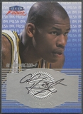 1999/00 Fleer Focus #8 Al Harrington Fresh Ink Auto