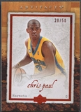 2007/08 Artifacts #61 Chris Paul Red #28/50