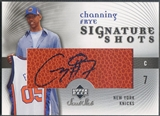 2005/06 Sweet Shot #CF Channing Frye Signature Shots Rookie Auto