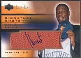 2003/04 Sweet Shot #MP Mickael Pietrus Signature Shots Rookie Auto