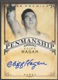 2008/09 Upper Deck Premier #PENCH Cliff Hagan Penmanship Auto #02/50