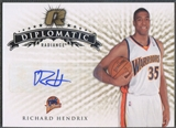 2008/09 Upper Deck Radiance #35 Richard Hendrix Diplomatic Auto