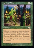 Magic the Gathering Judgment Single Living Wish - NEAR MINT (NM)