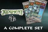 Magic the Gathering Judgment A Complete Set UNPLAYED