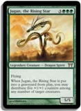 Magic the Gathering Champs of Kamigawa Single Jugan, the Rising Star Foil