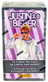 Justin Bieber 2.0 8-Pack Blaster 5-Box Lot (Panini 2011)
