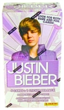 Justin Bieber Blaster 9-Pack Box (2010 Panini) (Lot of 100)
