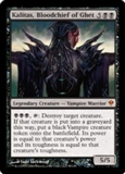 Magic the Gathering Zendikar Single Kalitas, Bloodchief of Ghet UNPLAYED (NM/MT)