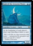 Magic the Gathering Saviors of Kami Single Kami of the Crescent Moon Foil